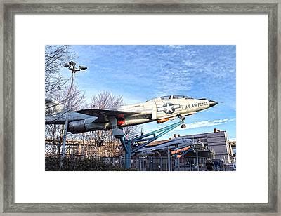 Naval And Military Park Buffalo Framed Print