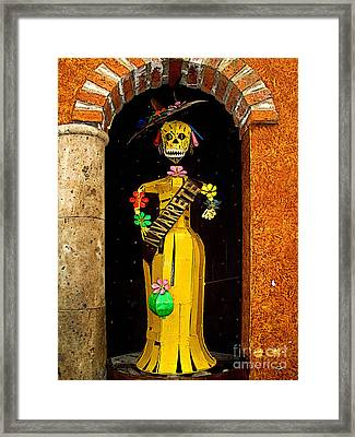 Navarrete 1 Framed Print by Mexicolors Art Photography