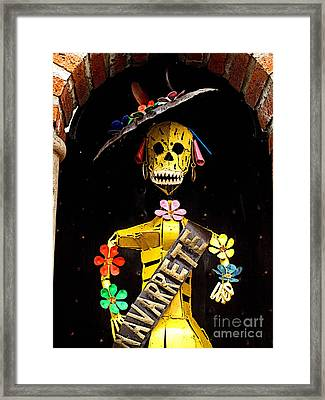 Navarrete 2 Framed Print by Mexicolors Art Photography