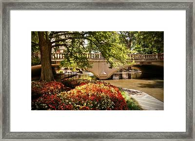 Navarro Street Bridge Framed Print