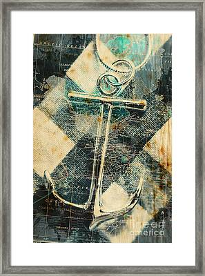Navigation Sea Anchor Framed Print by Jorgo Photography - Wall Art Gallery