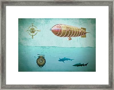 Navigators Framed Print