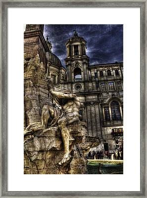 Navona 1 Framed Print by Brian Thomson