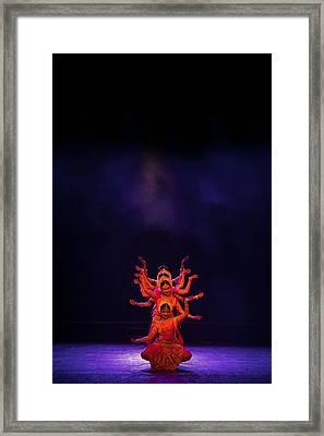 Navratri Durga Framed Print