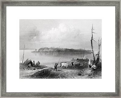 Navy Island Niagara River Ontario Framed Print