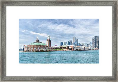 Navy Pier - Chicago Framed Print