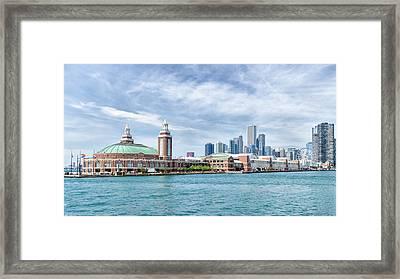 Navy Pier - Chicago Framed Print