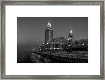 Navy Pier In Chicago Framed Print