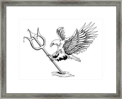 Navy Seals Framed Print by Scarlett Royal