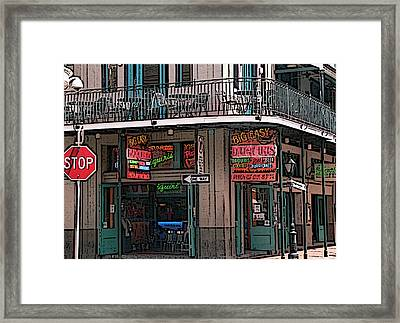 Nawlins Framed Print by David Bearden