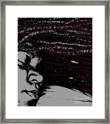 Nazarene 2 Framed Print by Fania Simon