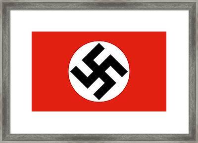 Nazi Flag 1920-1945 Framed Print