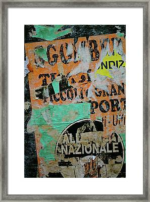 Nazionale Framed Print by Jason Wolters