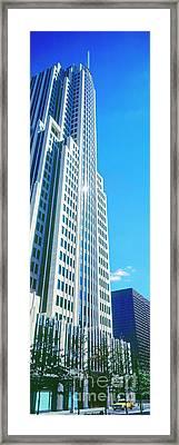 Nbc Tower Framed Print