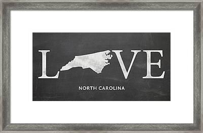 Nc Love Framed Print by Nancy Ingersoll
