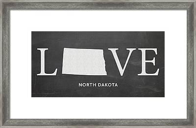 Nd Love Framed Print