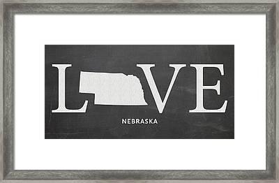 Ne Love Framed Print by Nancy Ingersoll