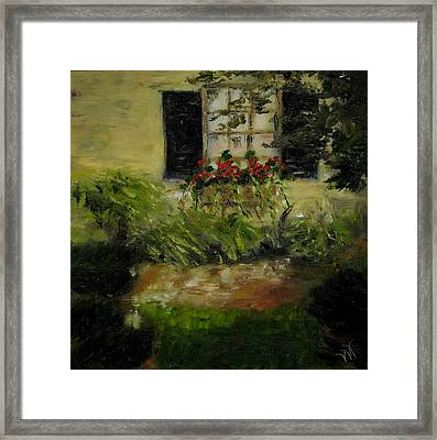 Neal's Path Framed Print by Wendie Thompson