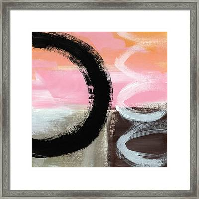 Neapolitan 3 - Abstract Painting Framed Print