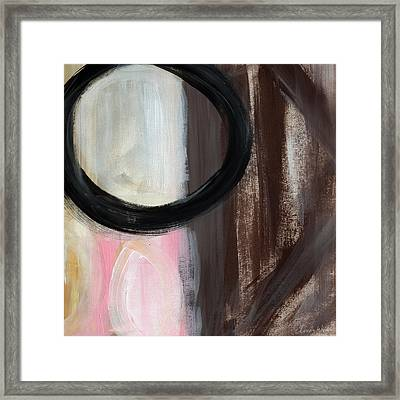 Neapolitan- Abstract Painting Framed Print