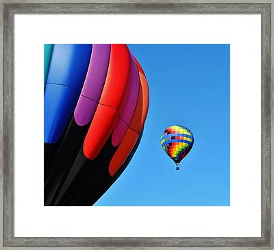 Near And Far Framed Print