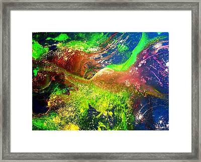 Near And Far - One Framed Print by Louise Adams