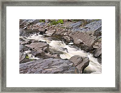 Near Barrow Falls Framed Print by Peter J Sucy