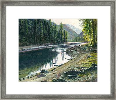 Near Horse Creek Framed Print