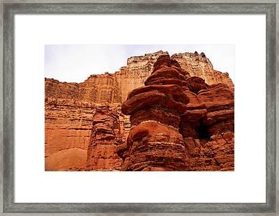 Near Moab 3 Framed Print by Marty Koch