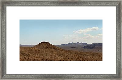 Framed Print featuring the photograph Near Nowhere by Gordon Beck
