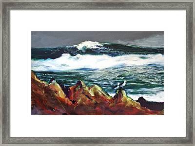 Near Pacific Grove Framed Print