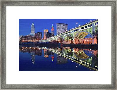 Near Perfect Reflection Framed Print by Frozen in Time Fine Art Photography