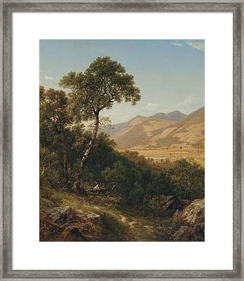 Near Shelburne Vermont  Framed Print by David Johnson
