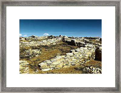 Near The End Of Fading Framed Print by Jeff Swan
