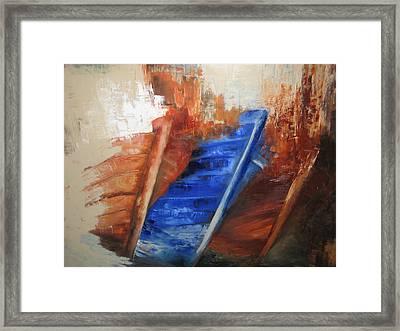 'near The Shore' Framed Print by Marina Harris