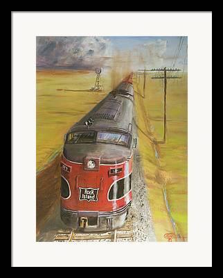 Alco Locomotives Framed Prints