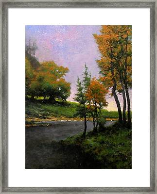 Near Woodland Framed Print