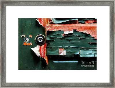 Nearing The End Framed Print by Michael Eingle