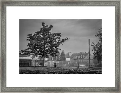 Nearly All Gone Framed Print