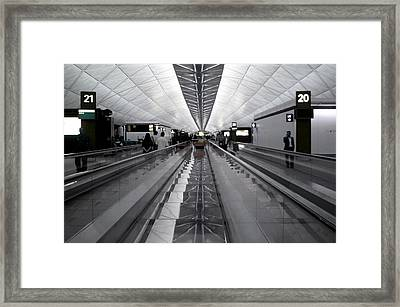 Nearly Out Framed Print by Jez C Self
