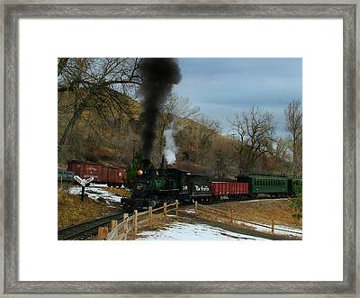 Nearly There Framed Print by Ken Smith