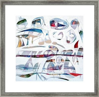 Nebbia   Framed Print
