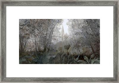 Nebbia Nel Bosco Framed Print