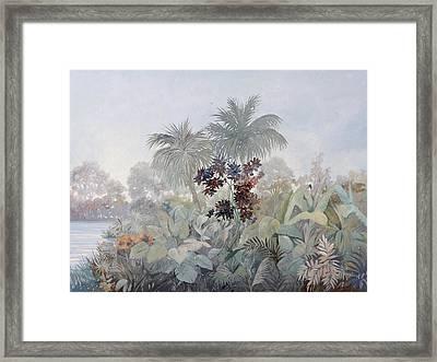 Nebbiolina Fitta Framed Print