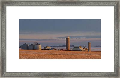 Nebraska Farm Life.. Framed Print by Al  Swasey