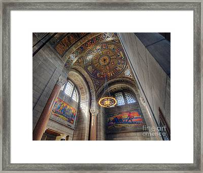 Framed Print featuring the photograph Nebraska State Capitol by Art Whitton