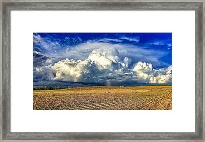 Nebraska Thunderhead Framed Print