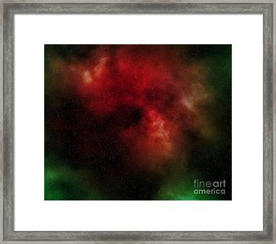 Nebula Framed Print by Michal Boubin