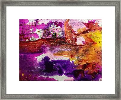 Nebula Painting Series Framed Print