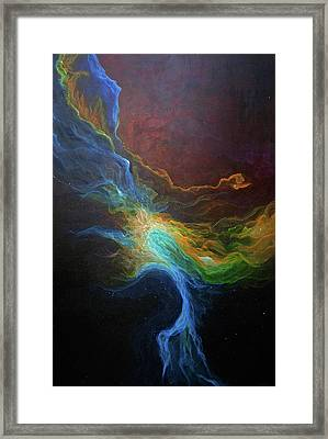Nebula Six Framed Print by Emily Magone